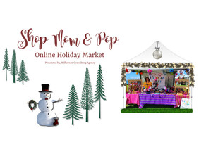 Shop Our Online Holiday Market & Support SMALL BUSINESSES!