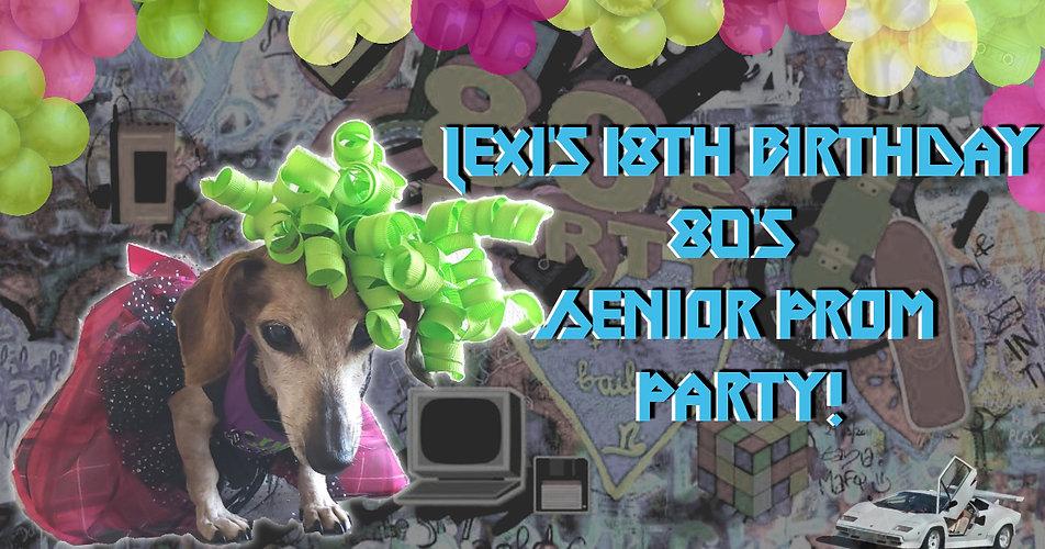 Lexis 18th Birthday Senior Prom Party FB