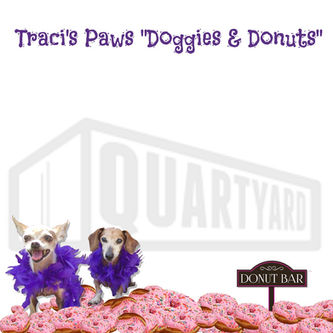 Traci's Paws Doggies and Donuts and spok