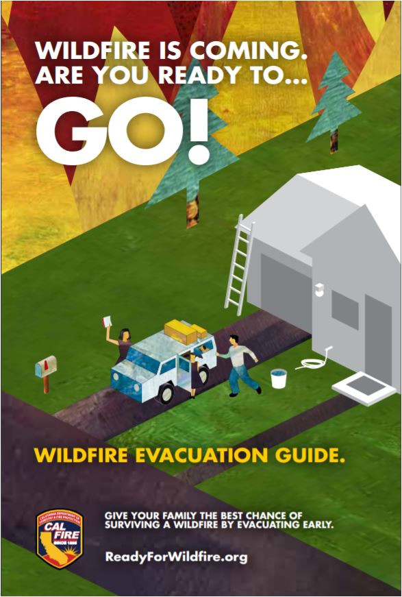 Are you prepared to evacuate in a wildfire with your pets and livestock? CALFIRE has provided information that will have you ready to leave and possibly save your pets' lives!
