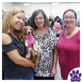 Traci's Paws facilitated a pet adoption