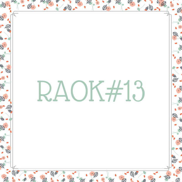 RAOK13: Wrapped in Love Quilt for Lynn