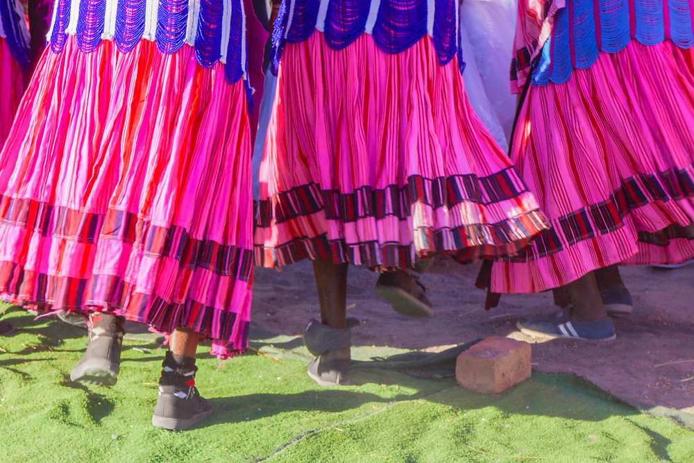 Owambo skirts