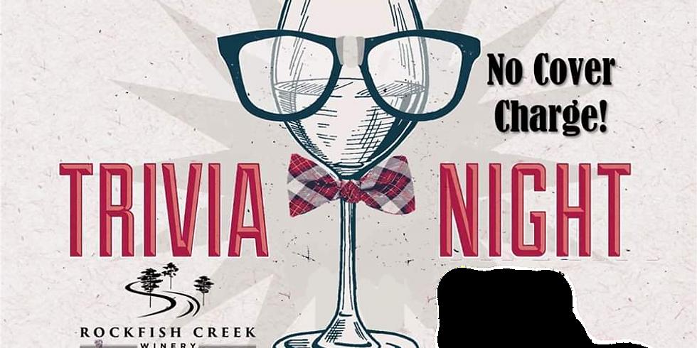 Trivia Night at RFC Winery, Round TWO!