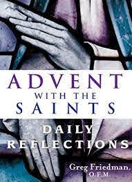 Advent with the Saints Cover