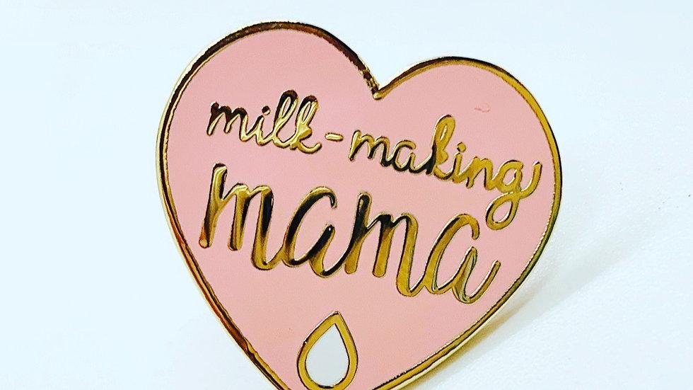 Milk-Making Mama Enamel Pin