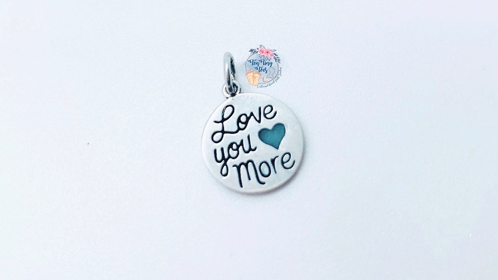 Love You More Charm