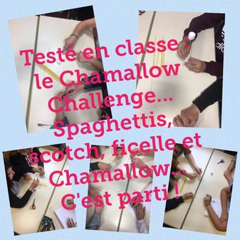 Le Marshmallow Challenge