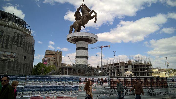 Facebook - Skopje, tout en contraste!