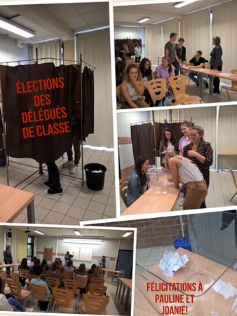 Élections des délégués en 1ST2S2