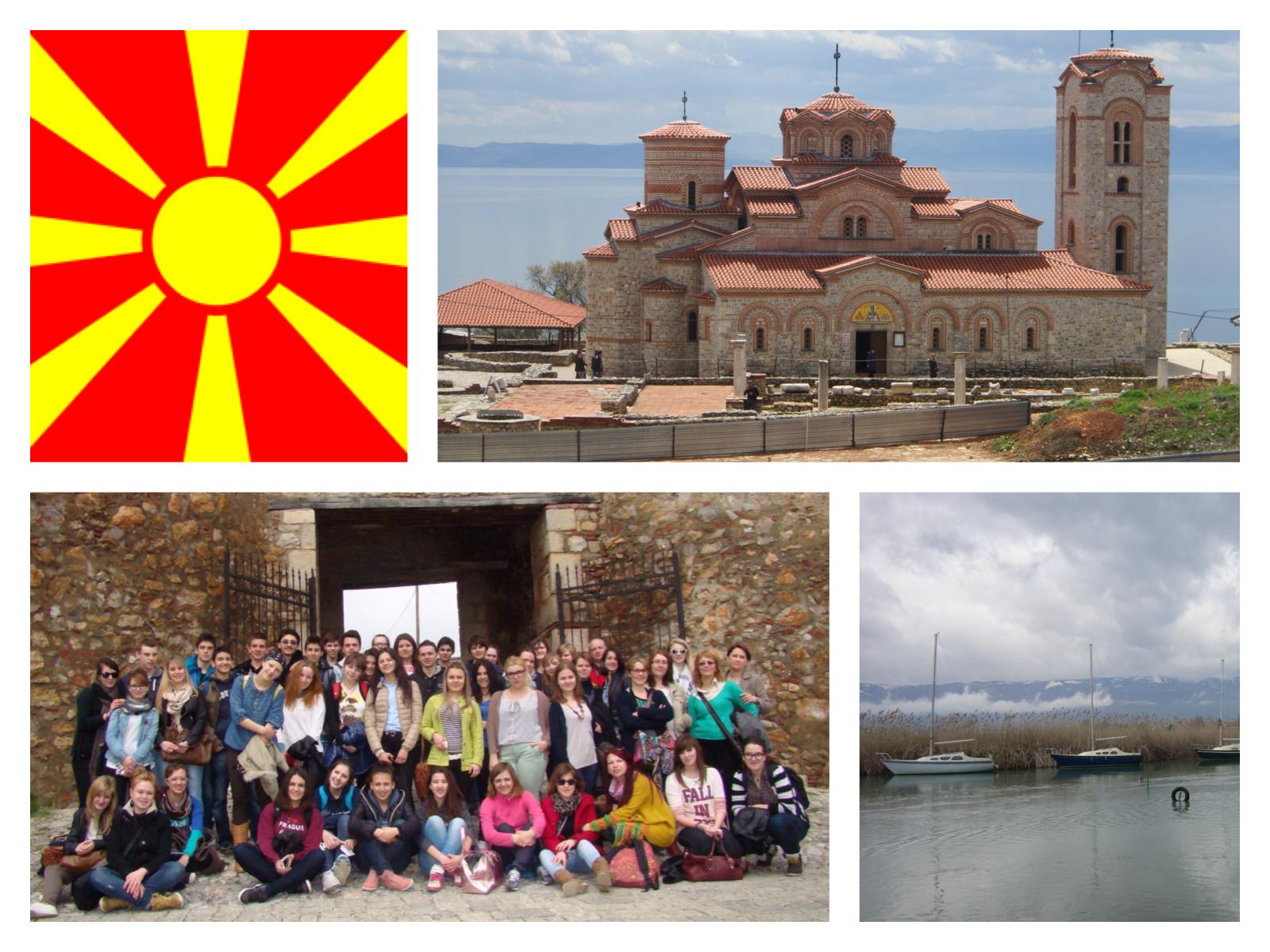 Premier séjour en Macédoine