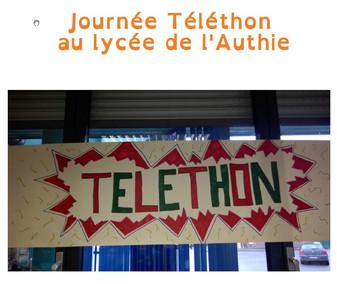 Journée Téléthon au Lycée