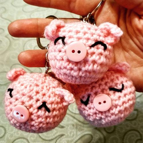 """Porte-clés """"Petit cochon"""""""