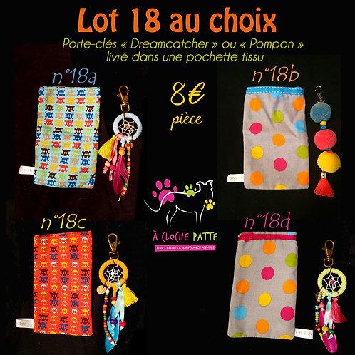Lot 18 - Bijou de sac & sa pochette