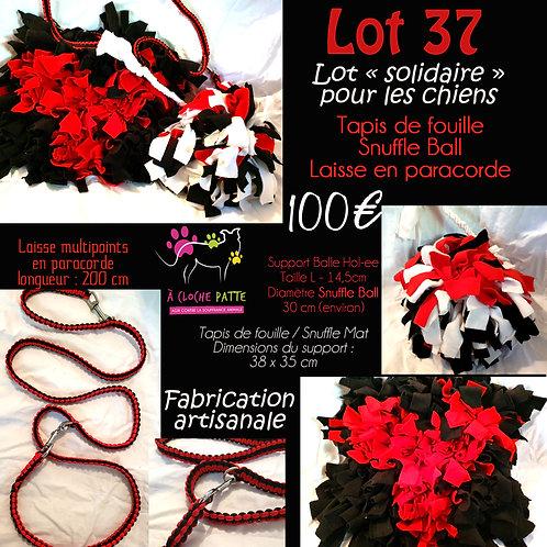 """Lot 37 - Spécial """"solidaire"""" pour les loulous"""