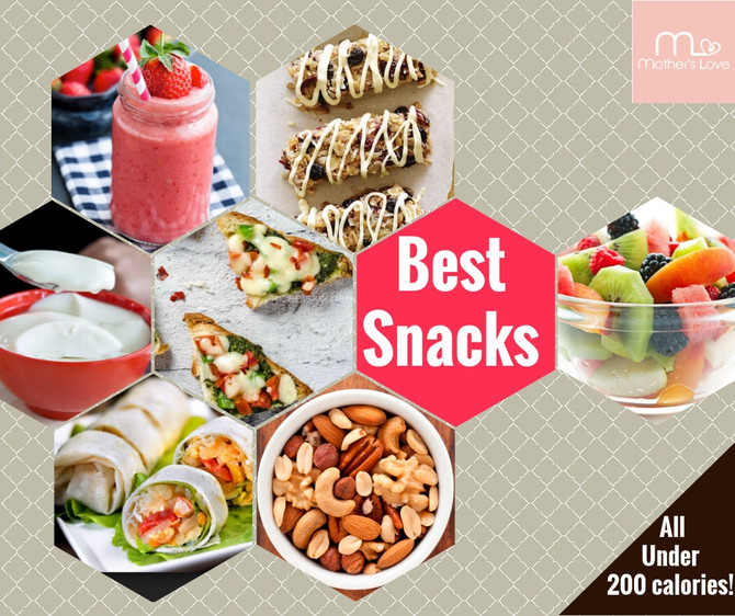 Best Snacks Under 200 Calories