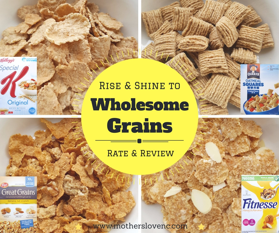 whole grain breakfast cereals, Mothers love Nutrition Consultancy