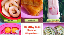Healthy Kids Snacks with just 4 Ingredients!