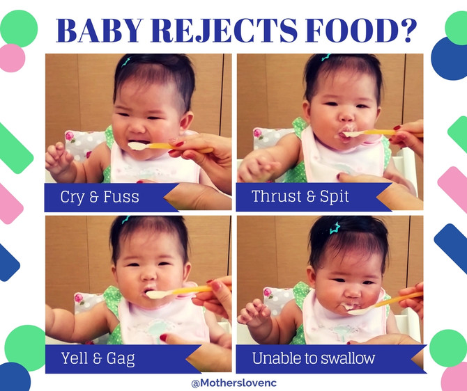 Baby Eats! Part 3: Is my baby rejecting food?
