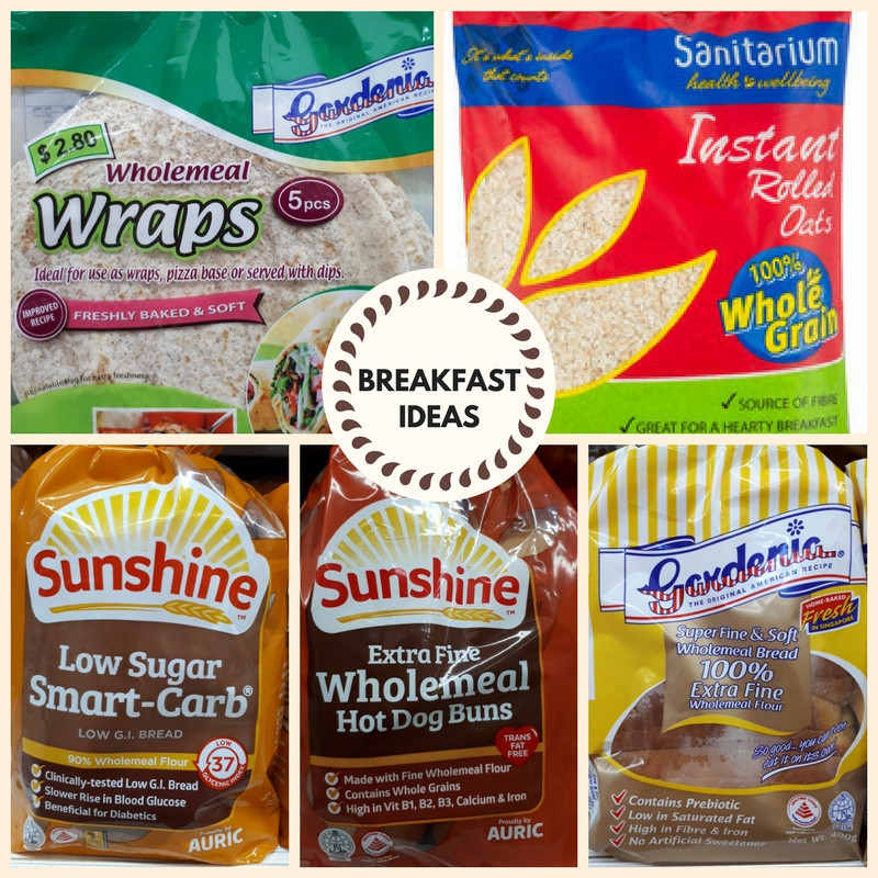 Whole grain breadkfast ideas Mothers Love Nutrition Consultancy