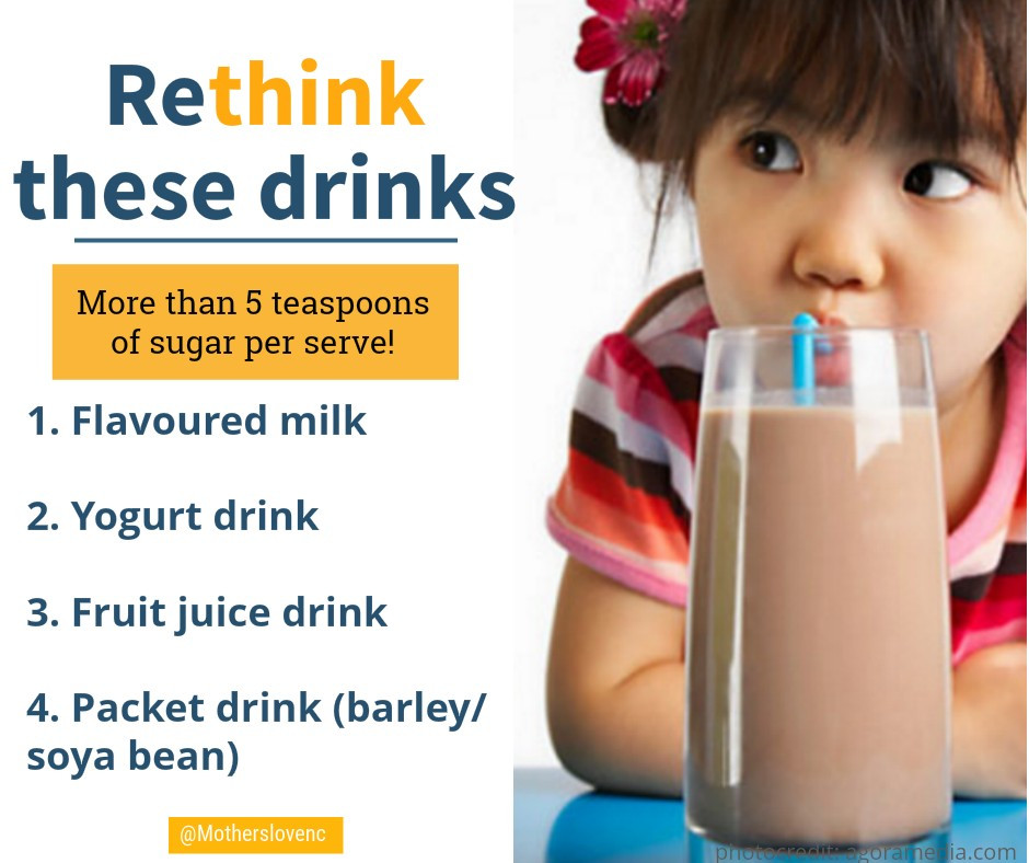 Rethink these high sugar drinks for kids