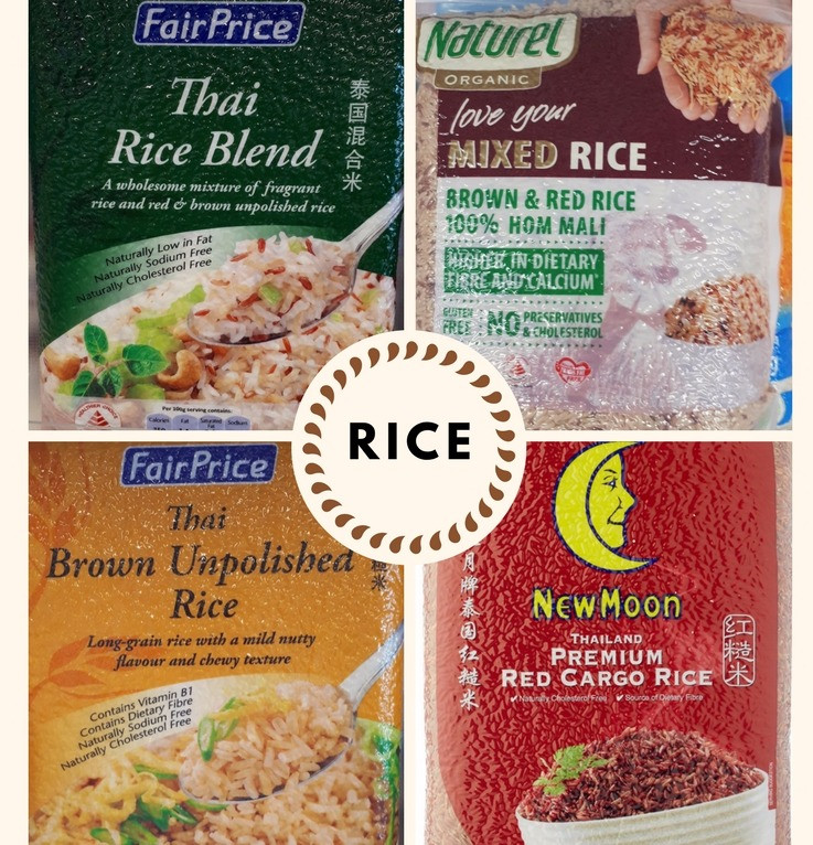 Brown rice, red rice, Mothers Love Nutrition Consultancy