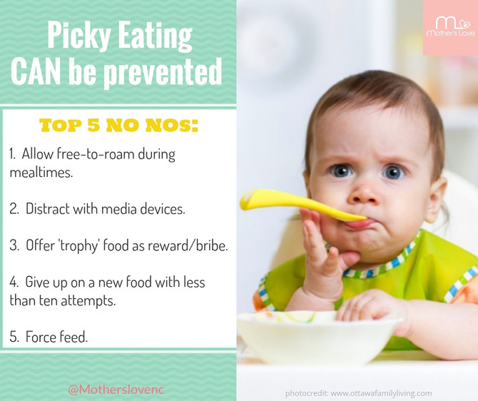 Picky Eating Can Be Prevented