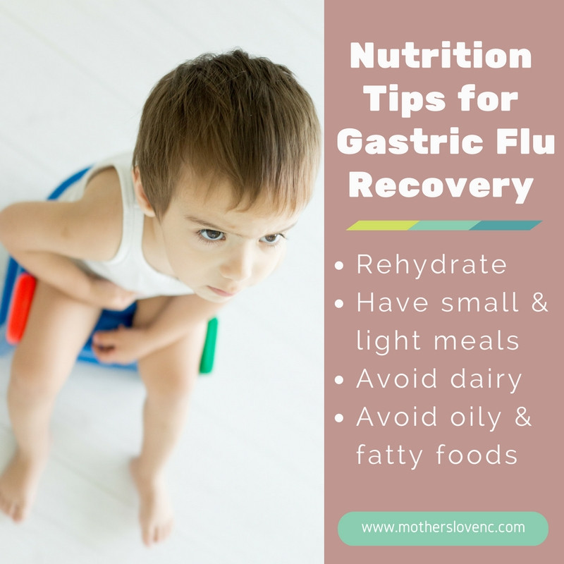 Nutrition Tips for Gastric Flu recovery