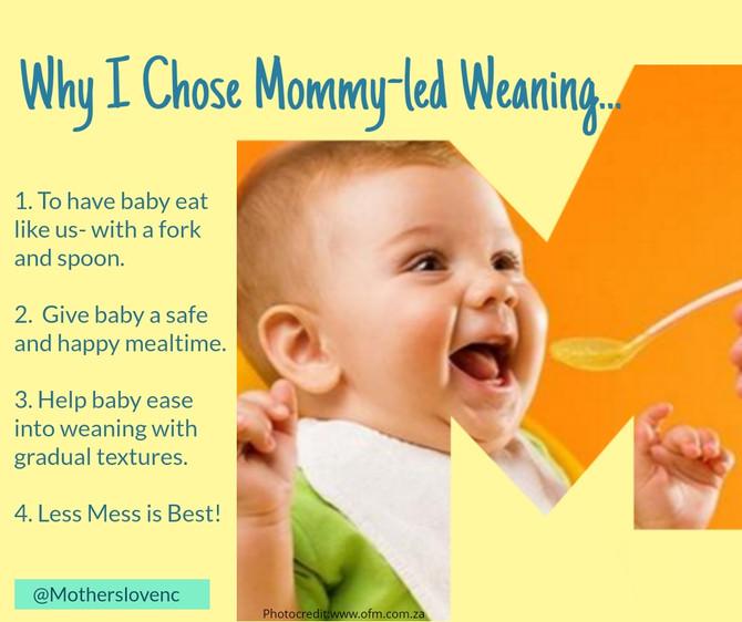 Why I Chose Mommy-led Weaning