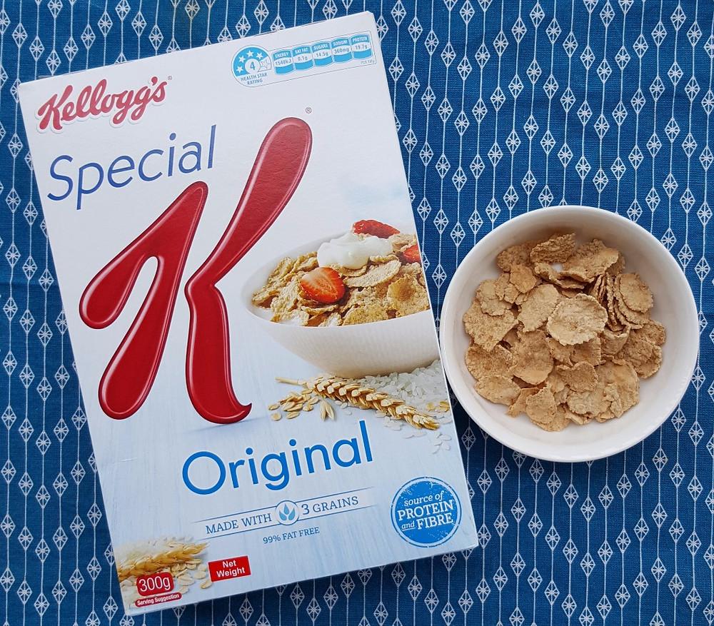 Kelloggs Special K Wholegrain cereal