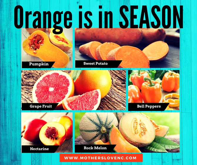 Orange/Yellow Fruits are in Season!