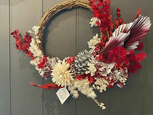 Ruby Wreath