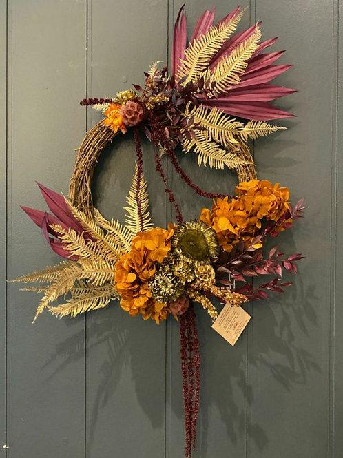 Magenta Magic Wreath