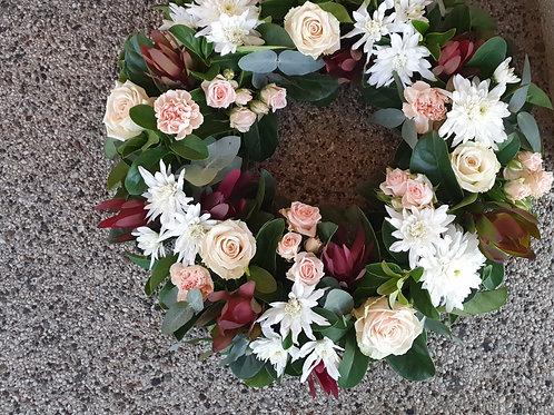 Omega Wreath