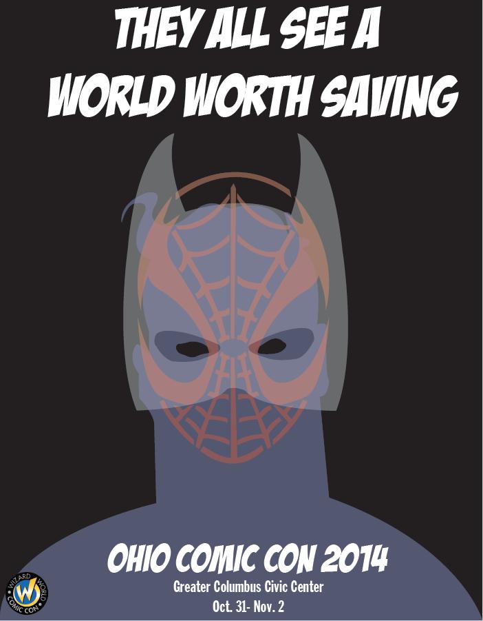 Ohio Comic Con Poster One