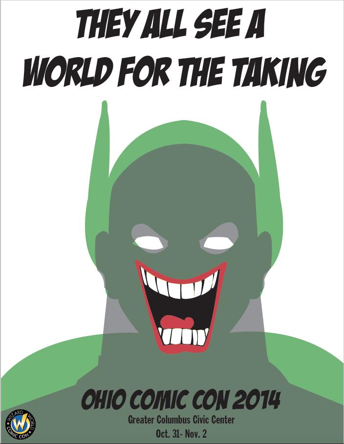 Ohio Comic Con Poster Two