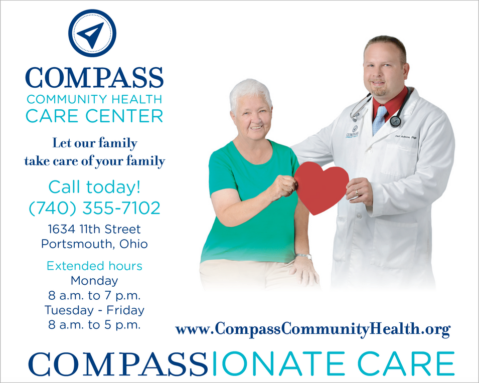 Compass Community Health Play Bill Advertisement
