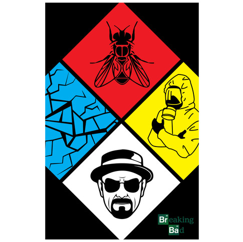 Breaking Bad Series Poster One