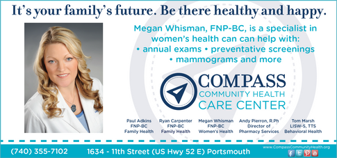 Compass Community Health Medical Guide Advertisement
