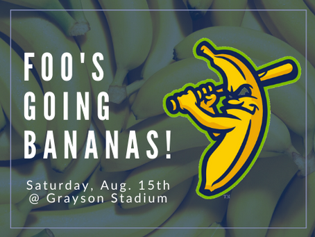 Are You Ready to GO BANANAS??