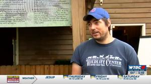 Oatland Island Naturalist Eric Swanson during a FOOVentures episode