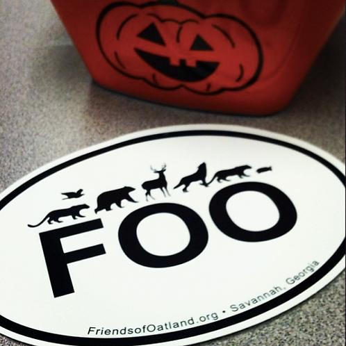 FOO Bumper Sticker