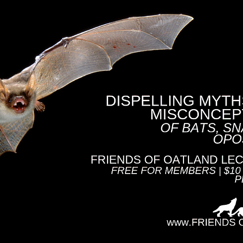 FOO Lecture Series ~ Dispelling Myths and Misconceptions