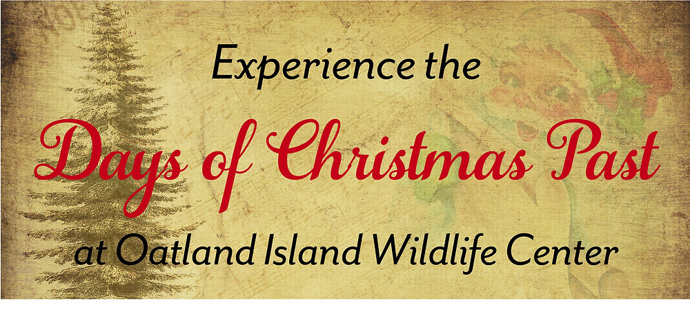 Friends of Oatland Annual Fundraiser Days of Christmas Past