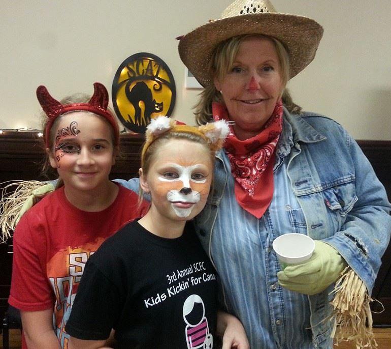 Halloween Hike Dr. Lesley Mailler