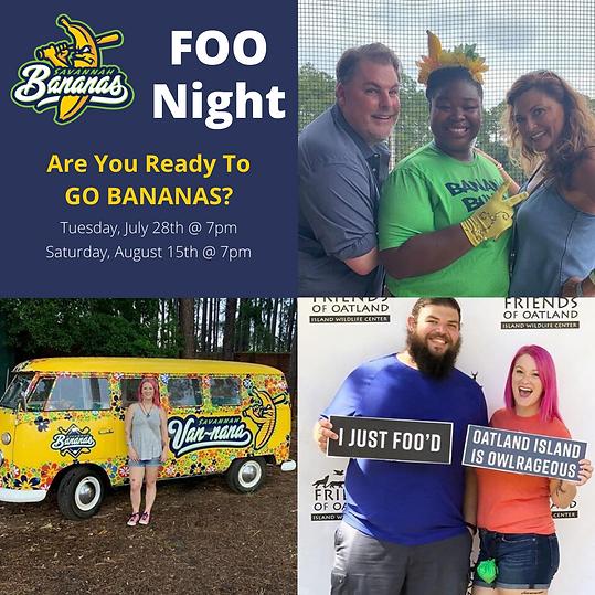 Friends of Oatland Fundraiser Event Savannah Bananas