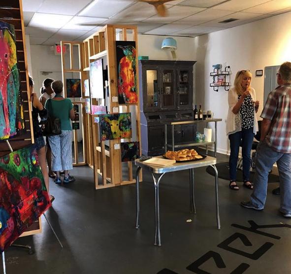 Color Geek Art Exhibit