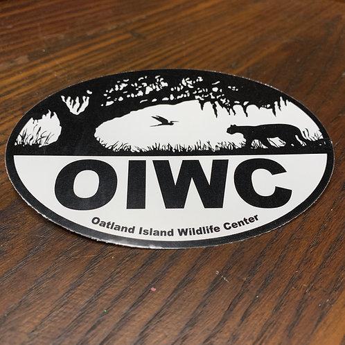 Oatland Island Bumper Sticker Gift Shop