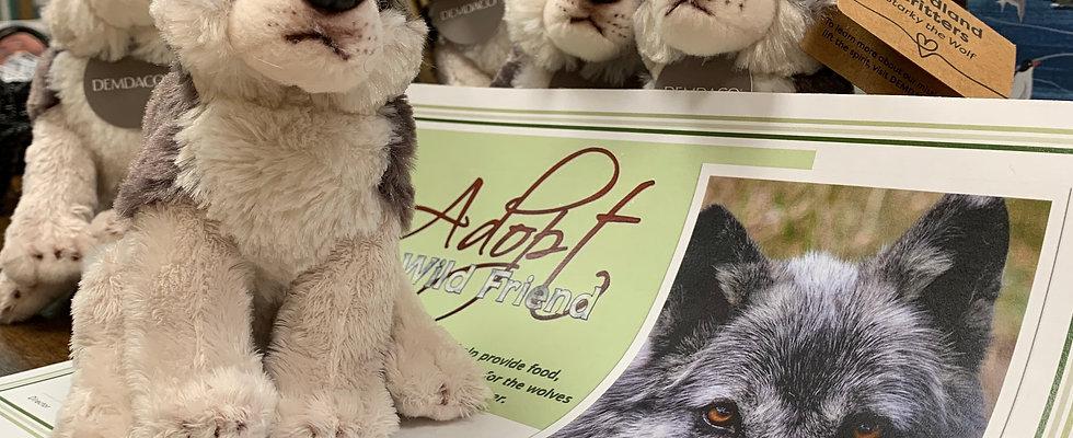 Wolf Adoption + Stuffed Animal