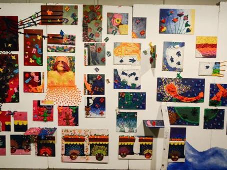 """תערוכת מגמת אומנות- תשע""""ו (2016)"""